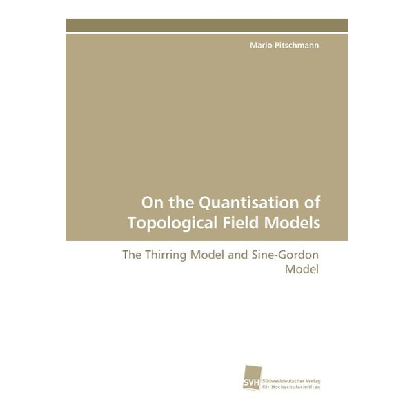 Pitschmann, Mario - On the Quantisation of Topological Field Models