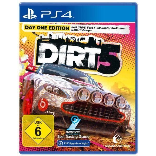 - DIRT 5 - Day One Edition (PlayStation PS4)