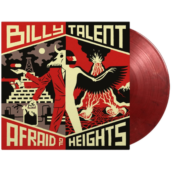 Billy Talent - Afraid Of Heights (Coloured Vinyl) (2LP) Limited Edition