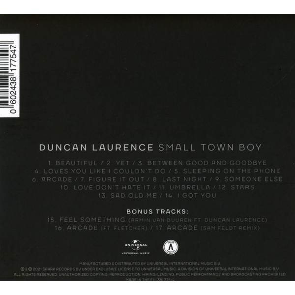 Laurence,Duncan - Small Town Boy  (Deluxe Edt.)