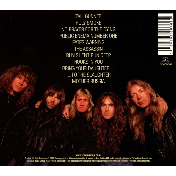 Iron Maiden - No Prayer For The Dying (2015 Remaster)