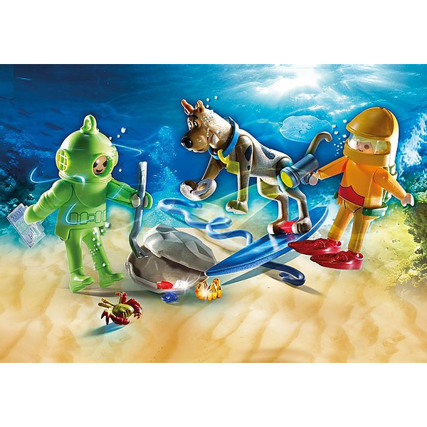 - Playmobil SCOOBY-DOO! Adventure with Ghost of Captain Cutler