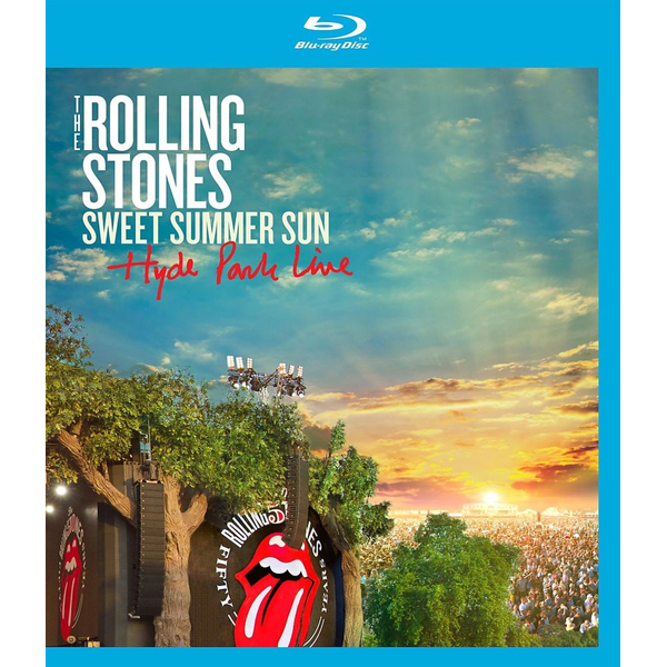 Rolling Stones,The - Sweet Summer Sun-Hyde Park Live (Bluray)