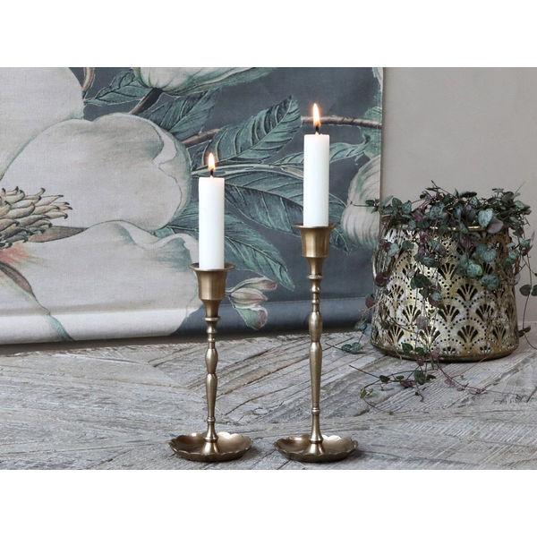 Chic Antique - Chic Antique 71599-13 candle holder Brass