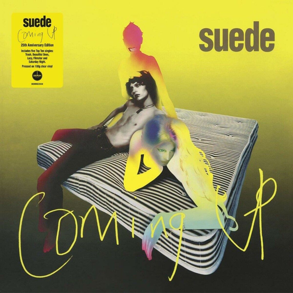 Suede - Coming Up (25th Anniv.180 Gr.Clear Vinyl)