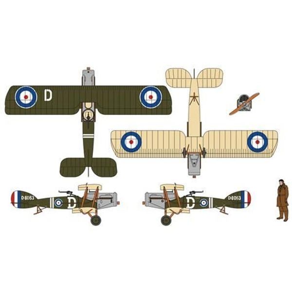 Hornby Gruppe - Hornby Gruppe Bristol F2B Fighter D-8063, RAF 139 Squadron,1918 AA28801
