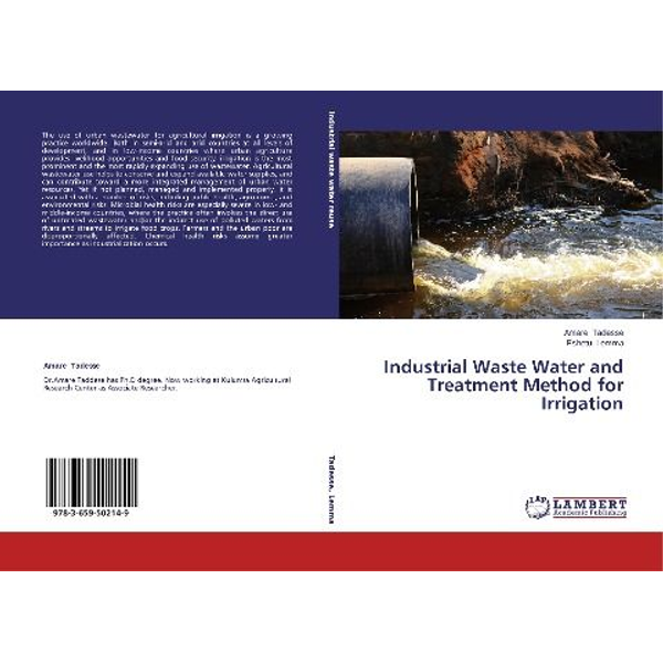 Tadesse, Amare - Industrial Waste Water and Treatment Method for Irrigation