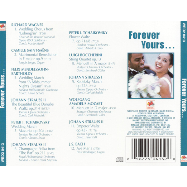 Various Artists - Forever Yours [Madacy]