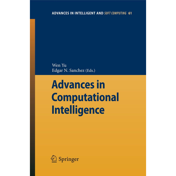 Springer Berlin Advances in Computational Intelligence