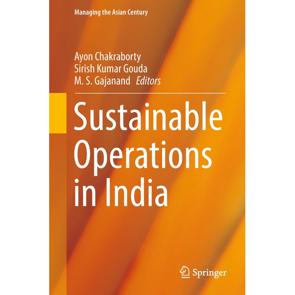 Springer Singapore Sustainable Operations in India