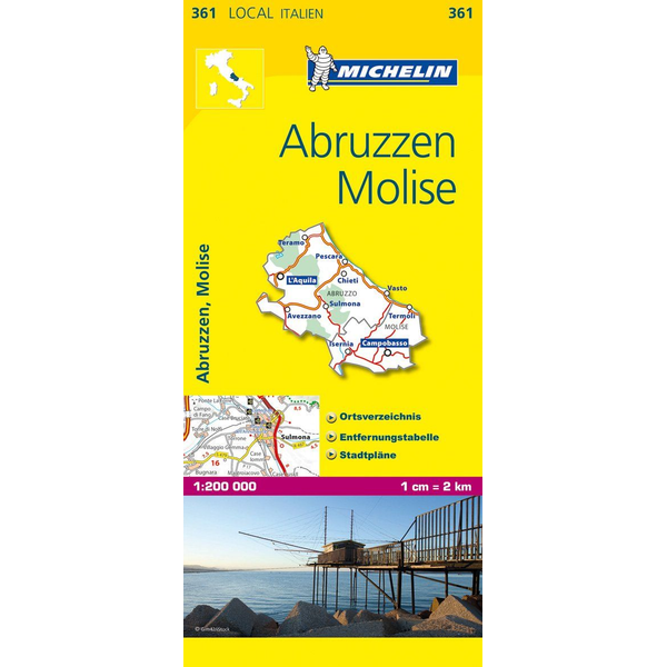 Michelin Editions des Voyages Michelin Abruzzen und Molise