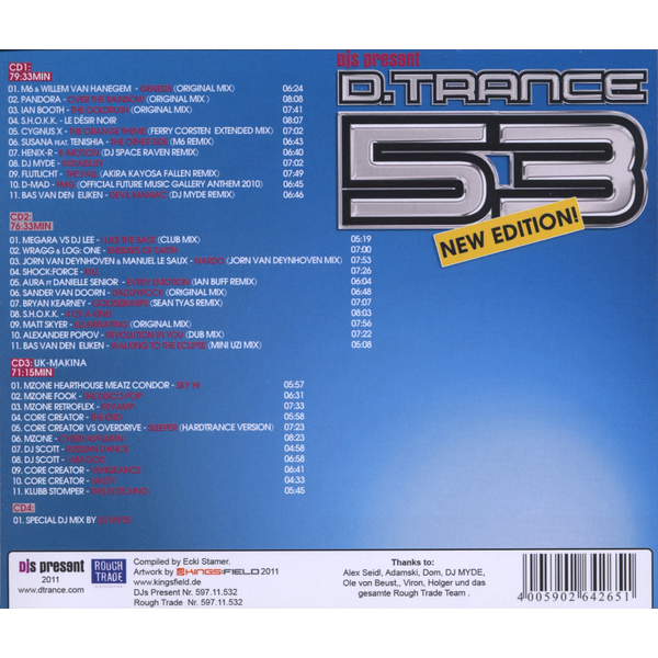 Various - D.Trance 53/New Edition