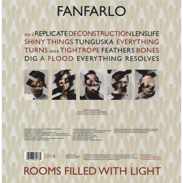 Fanfarlo - Rooms Filled with Light