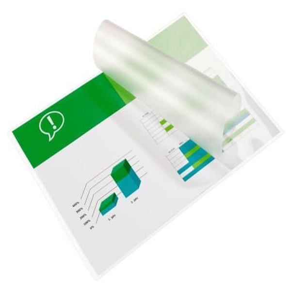 - GBC Document Laminating Pouches A6 2x125 Micron Gloss (100), Transparent, 216 mm, 303 mm, 0.125 mm, 100 pc(s)