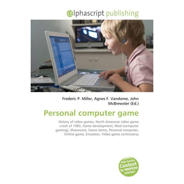 - Personal computer game