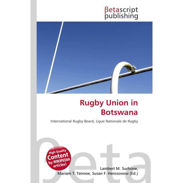 Betascript Publishing - Rugby Union in Botswana