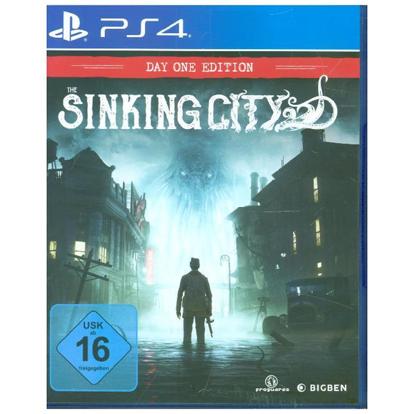 Flashpoint Germany - The Sinking City, PS4-Blu-ray-Disc (Day One Edition) - Für Playstation 4