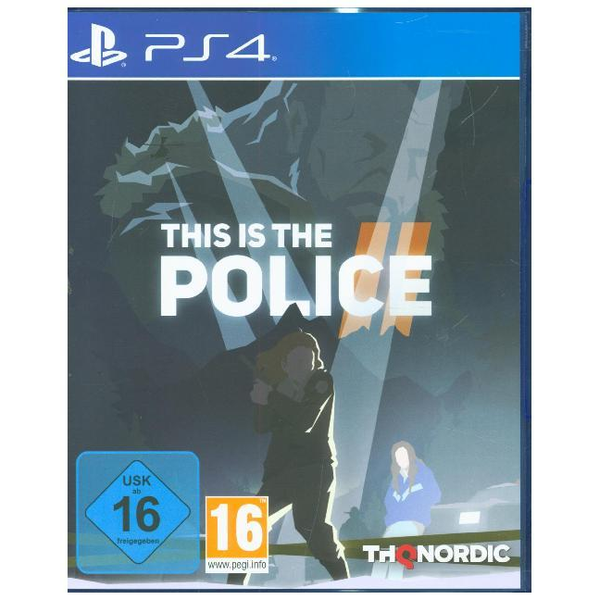GAME This is the Police 2, 1 PS4-Blu-ray Disc - Für PlayStation 4