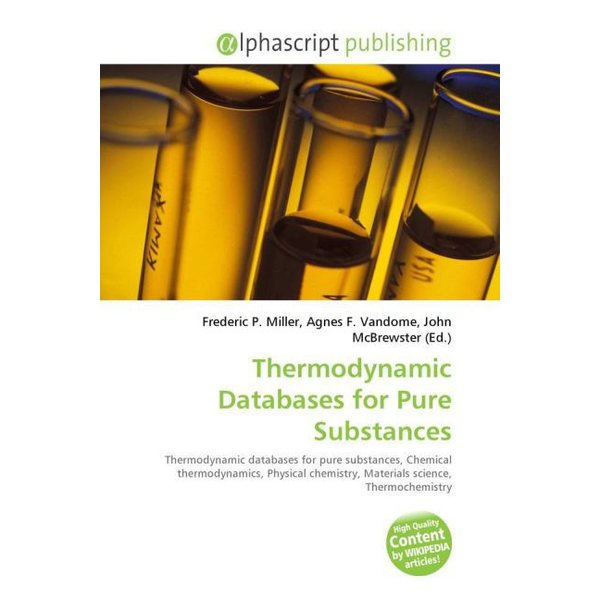 Alphascript Publishing - Thermodynamic Databases for Pure Substances