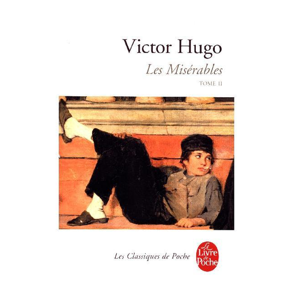 VICTOR HUGO - Le Livre de Poche LES MISERABLES T.2) book French Paperback 1056 pages