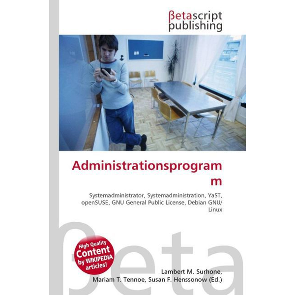 Betascript Publishing - Administrationsprogramm