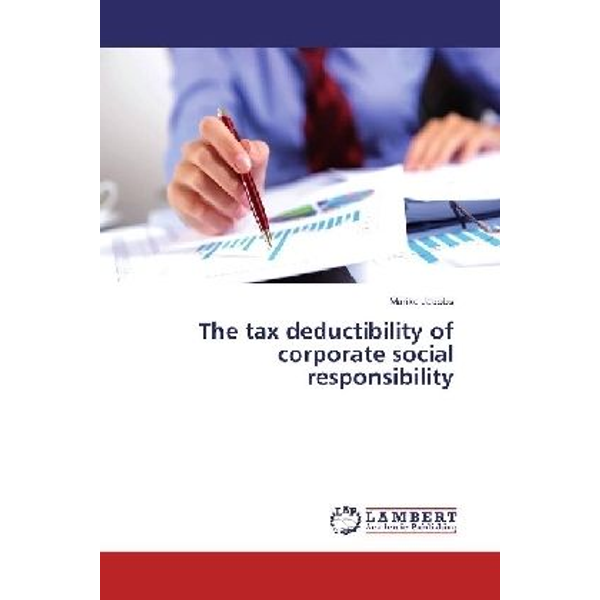 Jacobs, Marike - The tax deductibility of corporate social responsibility