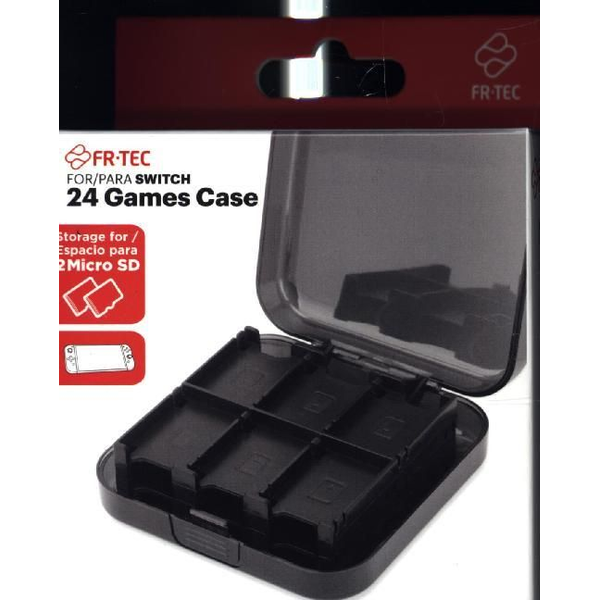 - 24 Games Case for Switch - Storage for 24 Micro SD