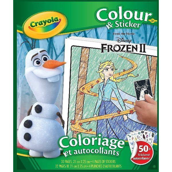 - Crayola Frozen 2 - Color & Stickerbook