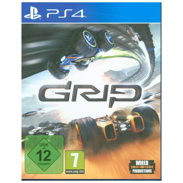 EuroVideo Games GAME GRIP: Combat Racing, PS4 Basic PlayStation 4