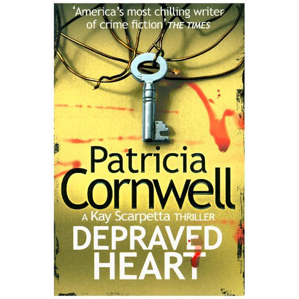 Cornwell, Patricia - HarperCollins DEPRAVED HEART book English Paperback 480 pages