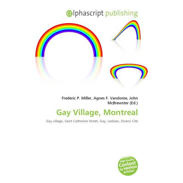 Alphascript Publishing - Gay Village, Montreal