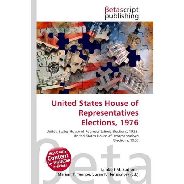Betascript Publishing - United States House of Representatives Elections, 1976