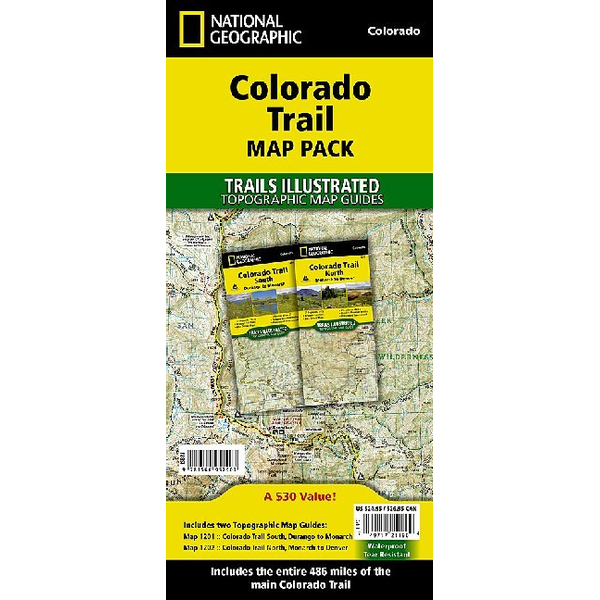 National Geographic Maps - Colorado Trail [Map Pack Bundle]