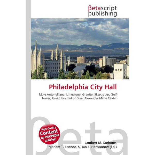 Betascript Publishing - Philadelphia City Hall