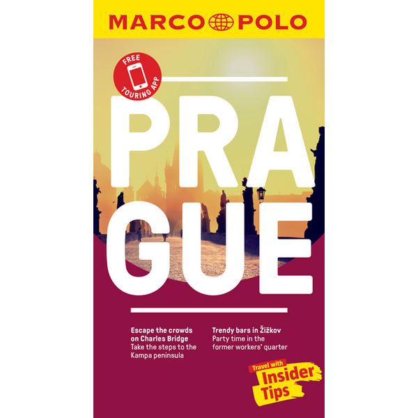 Heartwood Publishing UK Prague Marco Polo Pocket Travel Guide - with pull out map