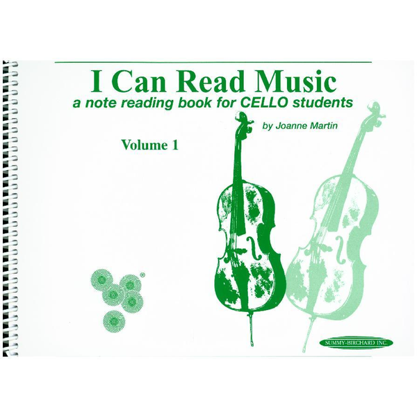 Joanne Martin - I Can Read Music, Volume 1 - A note reading book for CELLO students
