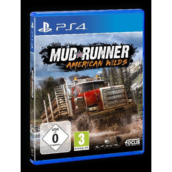 GAME - MudRunner, American Wilds, 1 PS4-Blu-ray Disc