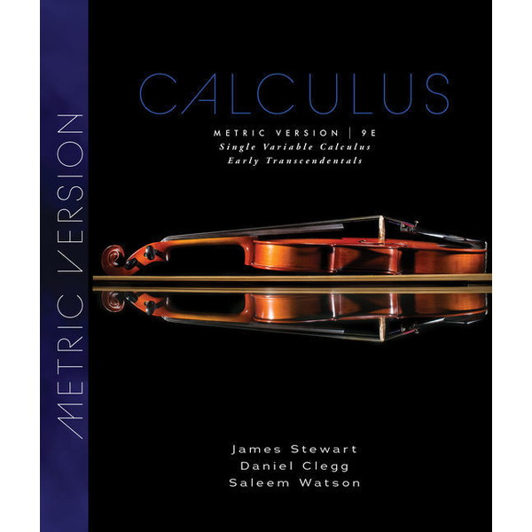 Stewart, James - Single Variable Calculus - Early Transcendentals, Metric Edition