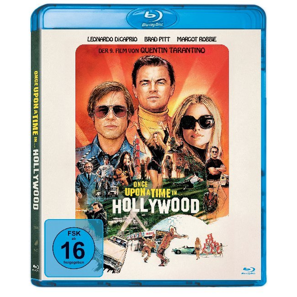 Tarantino, Quentin - Once Upon a Time in... Hollywood, 1 Blu-ray - USA