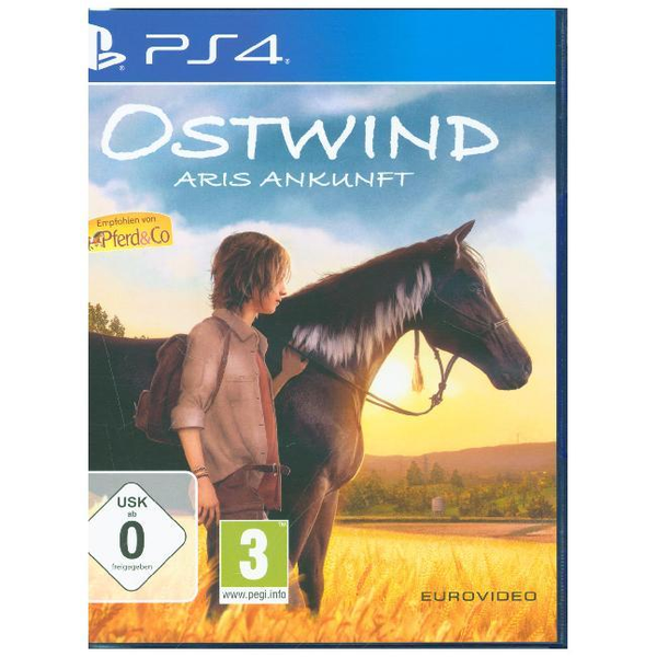 EuroVideo Games Ostwind, Aris Ankunft, 1 PS4-Blu-ray Disc (Gold Edition) - Für PlayStation 4