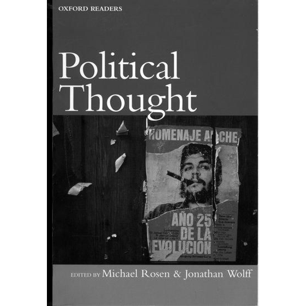 Michael Rosen, Jonathan Wolff - ISBN Political Thought book 448 pages