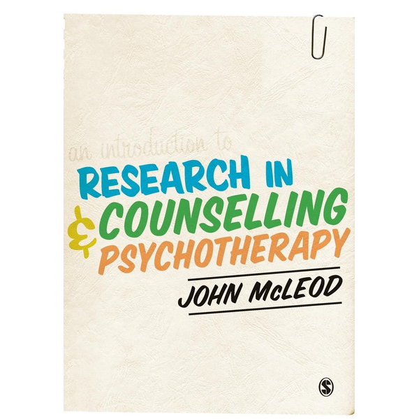 - An Introduction to Research in Counselling and Psychotherapy