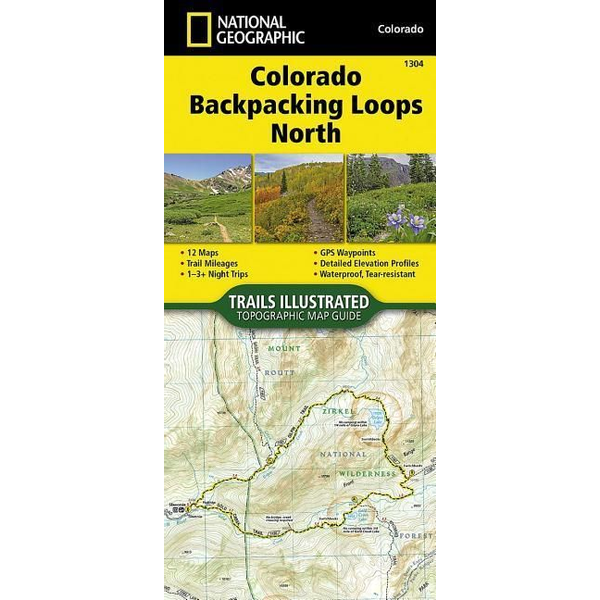 National Geographic Maps - Colorado Backpack Loops North