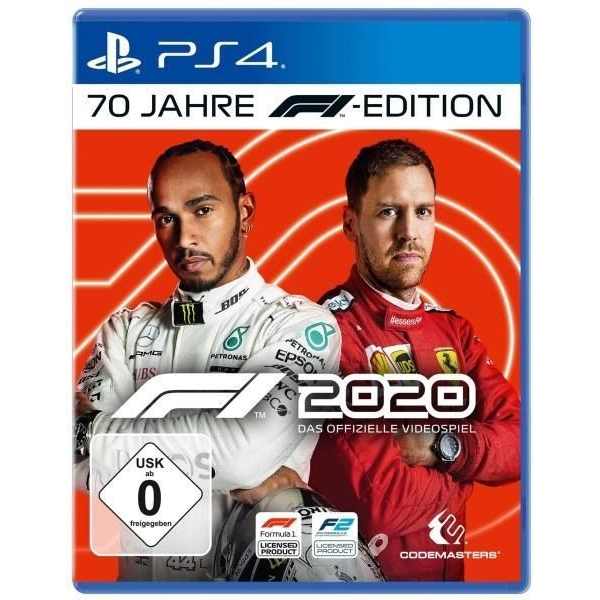 - F1 2020 70 Jahre F1 Edition (PlayStation PS4)