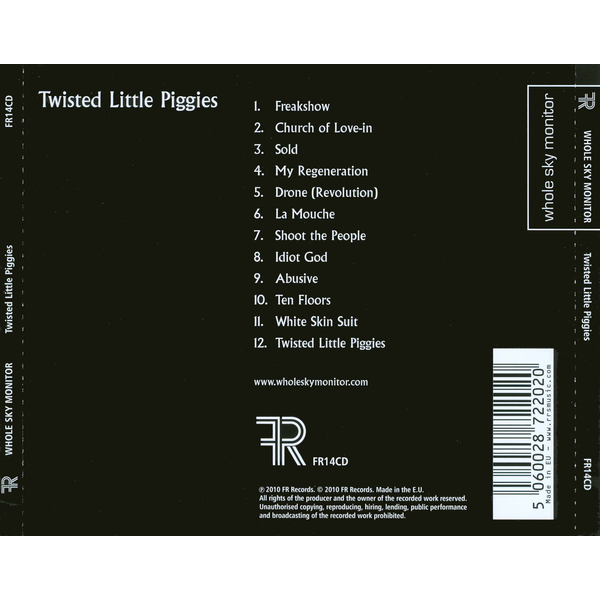 Whole Sky Monitor - Twisted Little Piggies