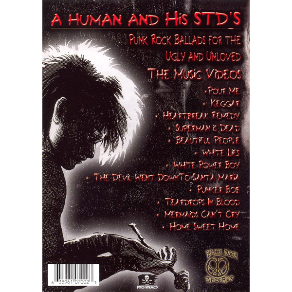 A Human & His STD's - Punk Rock Ballads for the Ugly and Unloved [DVD]