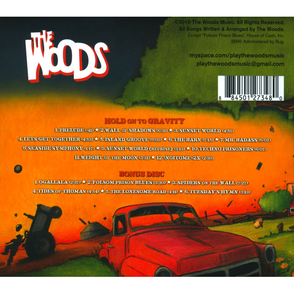 The Woods - Hold on to Gravity