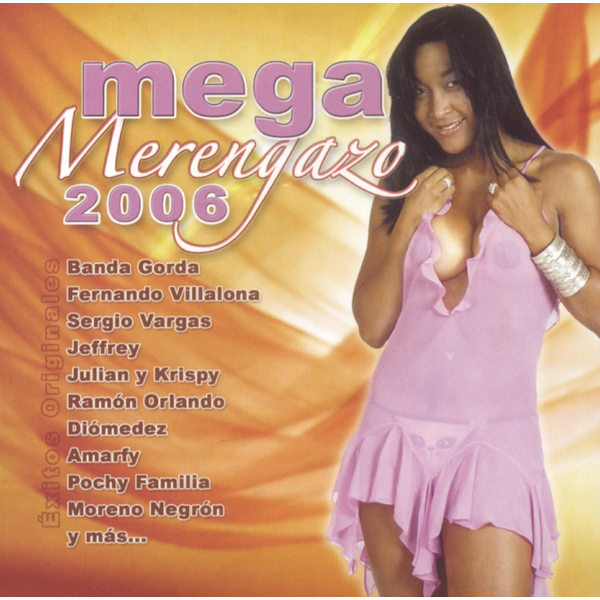 Various Artists - Mega Merengazo 2006