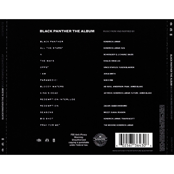 OST/Various - Black Panther: The Album [Music from and Inspired By]