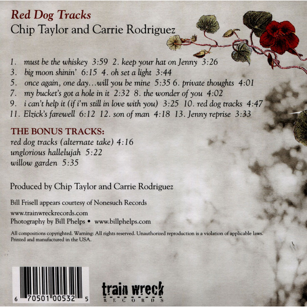 Taylor,Chip - Red Dog Tracks